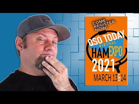 QSO Today Virtual Ham Expo for 2021!  Online Hamfest 2021