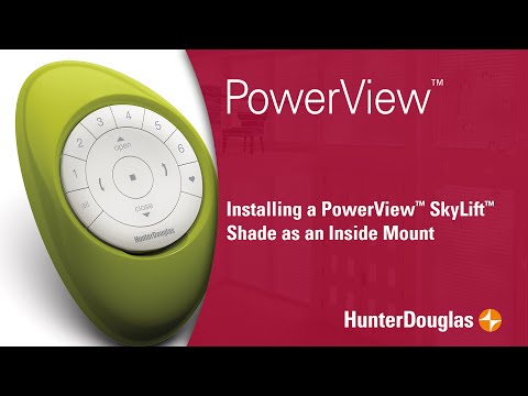 PowerView™ Honeycomb Shades with SkyLift™ - Inside Mounting (IB) Instructions - Hunter Douglas