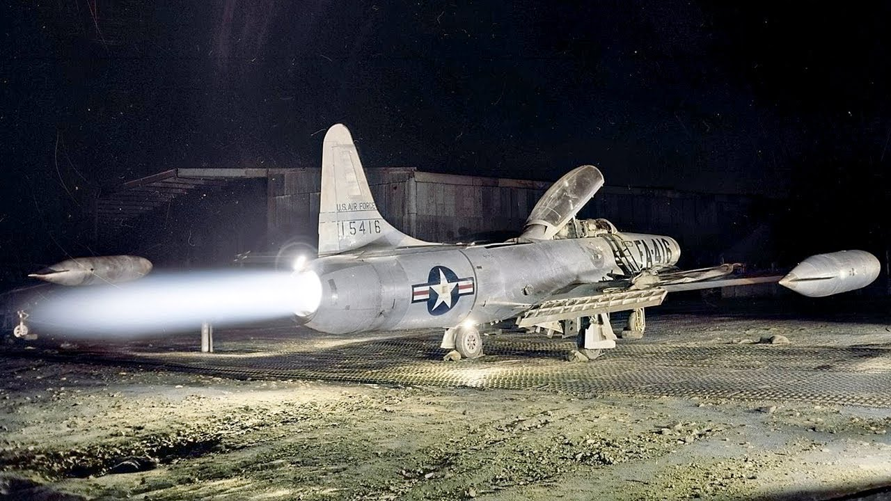 F-94 – The First Air Force Jet with an Afterburner