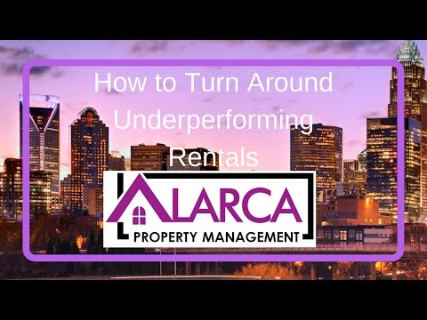 Charlotte NC Multi-Family Property Investing: How to Turn Around Underperforming Rentals