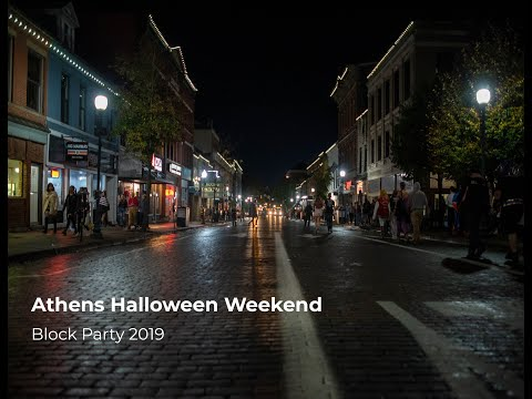 Check out footage from the 2019 HallOUween Block Party. The block party took place October 25 and 26 in Athens, Ohio.   Video by Kelsey Boeing Edited by Kelsey Boeing  Visit our website:  https://www.thepostathens.com/
