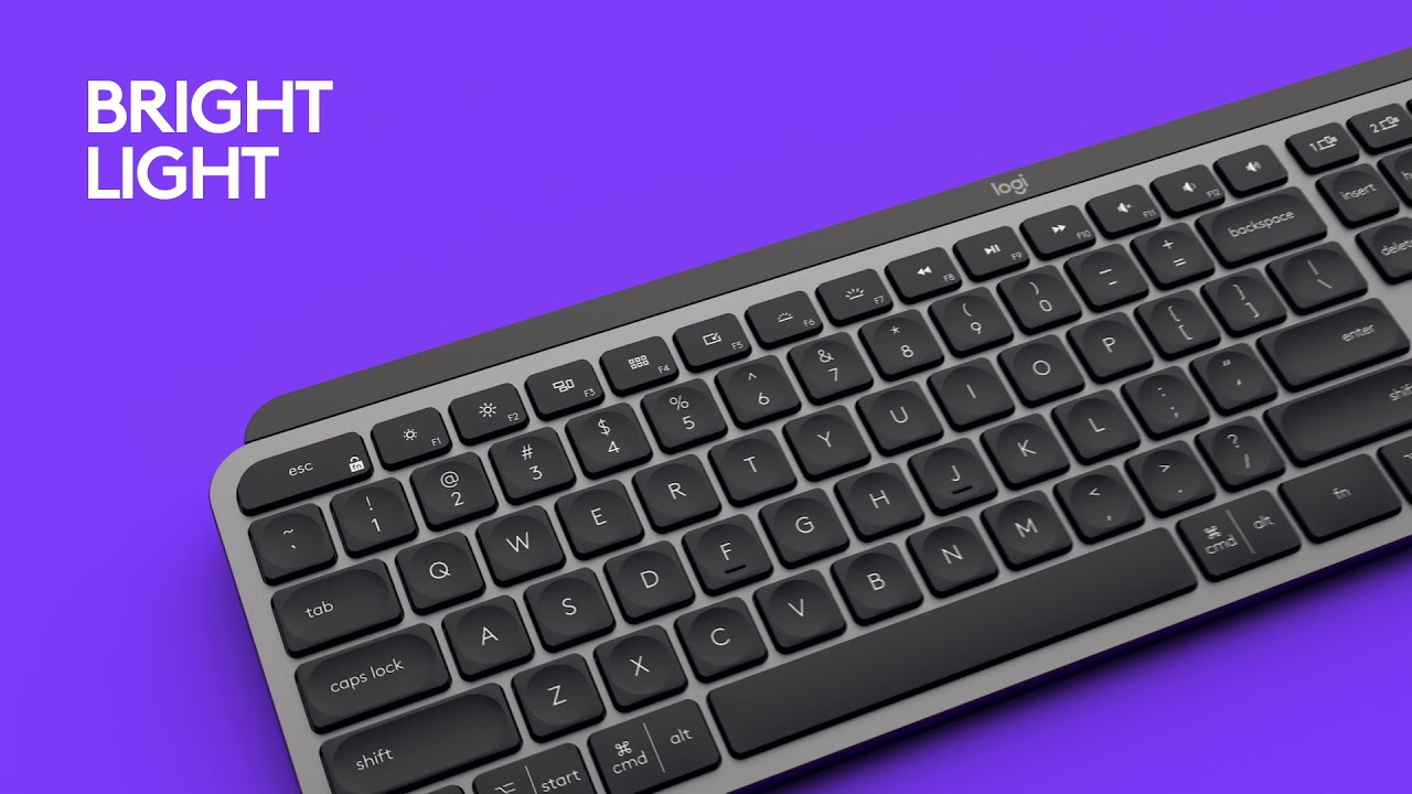 MX Keys - Advanced keyboard - Think it. Master it.