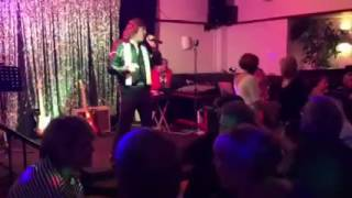 Michael Douglas as Neil Diamond at The Walrus Pub Plymouth