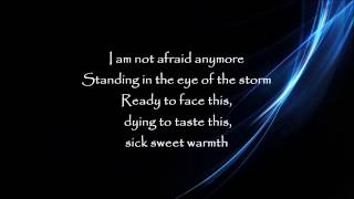 Not afraid anymore-Fifty Shades Darker(lyrics video)
