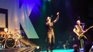 Thousand Foot Krutch - Be Somebody (Live in Moscow 20.03.2016)