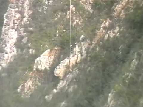 Highest bungee in the world. 216m