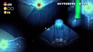 New Super Mario Bros. U (Wii U) - Soda Jungle-5 Walkthrough (1-Player)