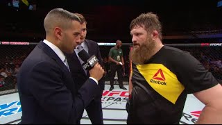 Fight Night Brasilia: Roy Nelson Octagon Interview