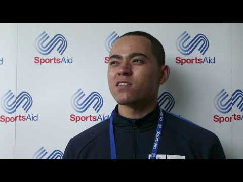 Para athlete Jordan Andrew aiming to hit the heights of the Paralympic Games