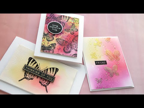 3 Cards with the June 2020 Card Kit from Simon Says Stamp!