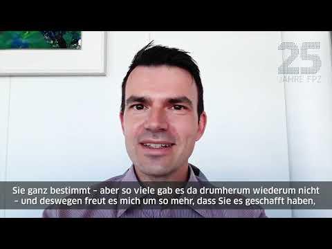25 Jahre FPZ - Glückwünsche von Max Wunderlich