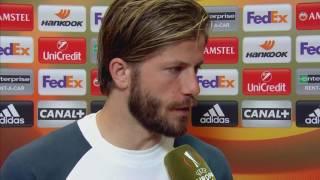 Lasse Schone po finale Ligi Europy UEFA || Wywiad || Piłka nożna