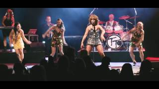 Rebecca O'Connor as Tina Turner - Simply the Best Tour | promo #2