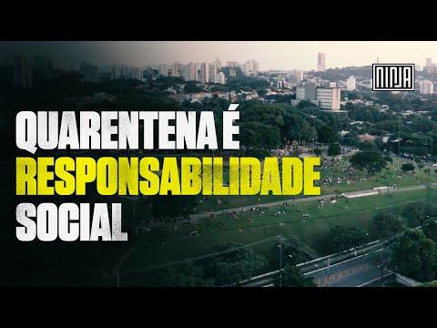 Mesmo com mais de 200 mortes por Coronavirus, São Paulo segue movimentada