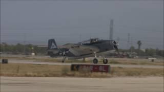 アメリカ海軍艦上攻撃機TBF/TBMアヴェンジャーの飛行