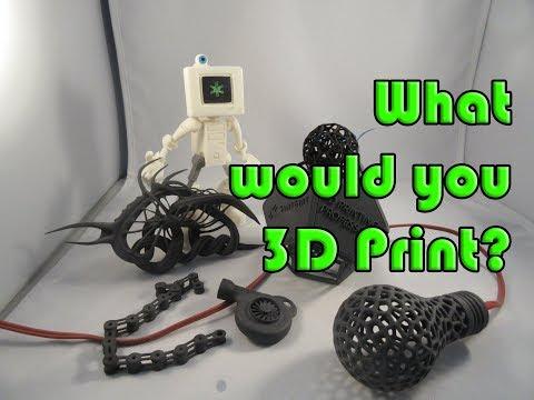 What would you powder 3D print? Sinterit Lisa print review