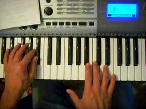 Comment jouer She's the One de Robbie Williams au piano