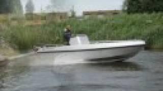 Ongebruikt STEELFISH 696 Touring Aluminium werkboot worker boot consoleboot IN-83