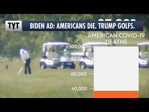 "Joe Biden EVISCERATES Trump in New ""Golf"" Ad"