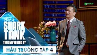 """[Hậu Trường Tập 4] Shark Hưng """"Ngầu"""" Hết Sức!   Shark Tank Việt Nam   Thương Vụ Bạc Tỷ Mùa 2"""