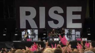 Rise Against - The Good Left Undone [live at Rock am Ring 2010]