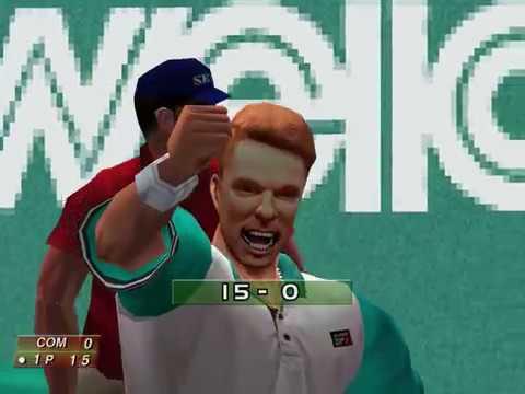 Virtua Tennis (Arcade Mode: Pieter Tinbergen) (Hitmaker, Strangelite) (Windows) [2002] PC Longplay