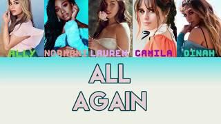 Fifth Harmony - All Again Tradução PT/BR [Color Coded]