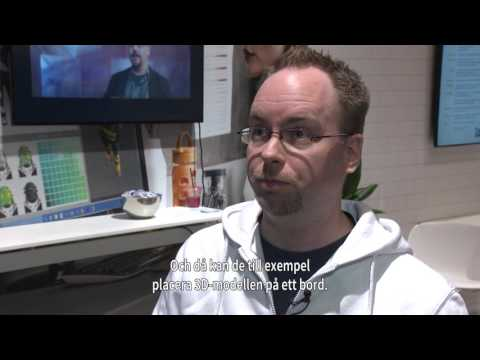 Dustin -  Jimmy Engström, Developer på Azmedev om mixed reality