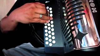 acorde septimo de SIBEMOL teoria acordeon de botones SOL hohner panther