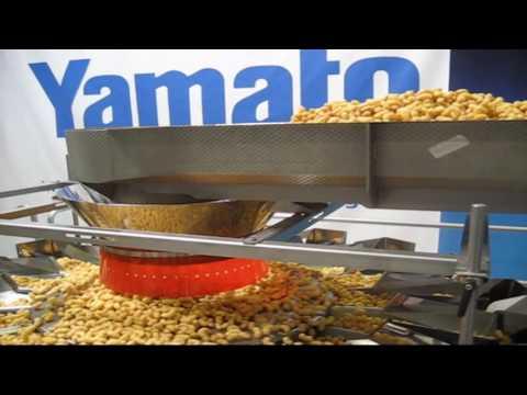 Yamato Mehrkopfwaage - Verwiegung und Verpackung von Snacks