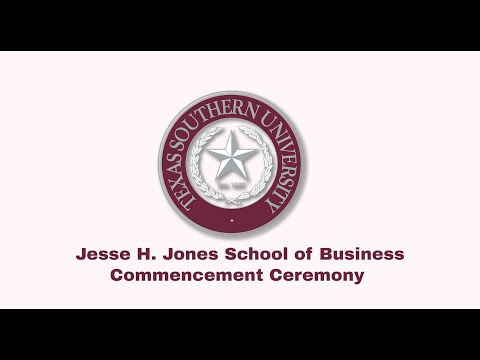 Winter 2020 Commencement  - Jesse H. Jones School of Business