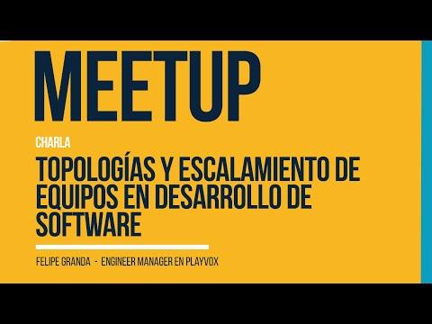Topologías y Escalamiento de equipos en desarrollo de software | Python Medellín