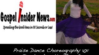 Praise Dance 101: Simple Worship Turn #1