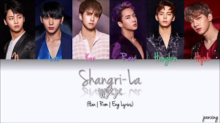 VIXX (빅스) – Shangri-La (도원경 (桃源境)) (Color Coded Han|Rom|Eng Lyrics)