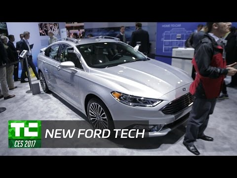 Ford's CEO talks new technologies