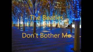 The Beatles(ザ・ビートルズ)/Don't Bother Me:Cover/Hiroki Shigeeda.