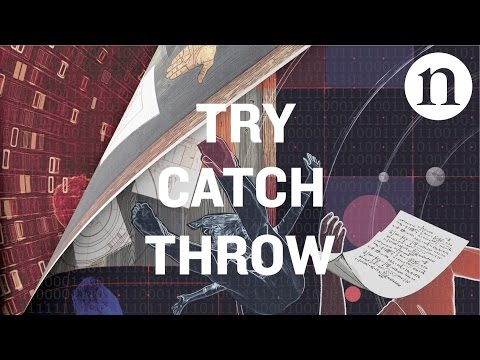 'Try Catch Throw': a science fiction motion comic
