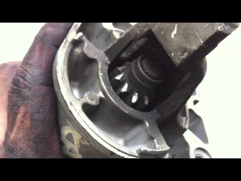 How to 1999 chrysler starter replacement install and removal