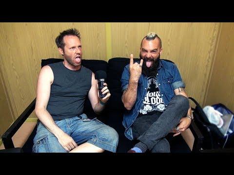 Killswitch Engage Interview - Jesse Leach - Sweden Rock Festival 2018