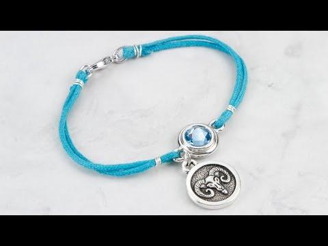Artbeads Mini Tutorial - Zodiac Bracelets with Tracy Gonzales from TierraCast