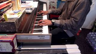 Forbidden Fruit (electric relaxation)  - J.Cole(a tribe called quest) Piano Cover