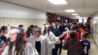 2016 FHS Graduation Walk