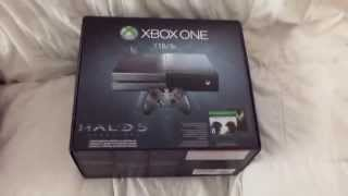 UNBOXING Limited Edition Halo 5: Guardians Bundle Pre-order