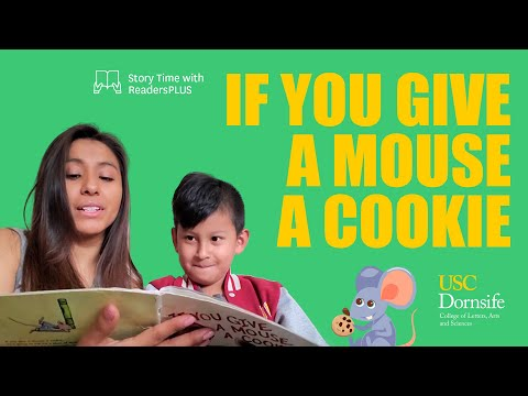 Story Time with ReadersPLUS: If You Give a Mouse a Cookie