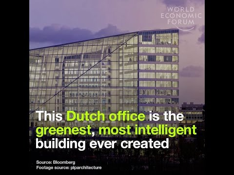 This Dutch office is the greenest, most intelligent building ever created