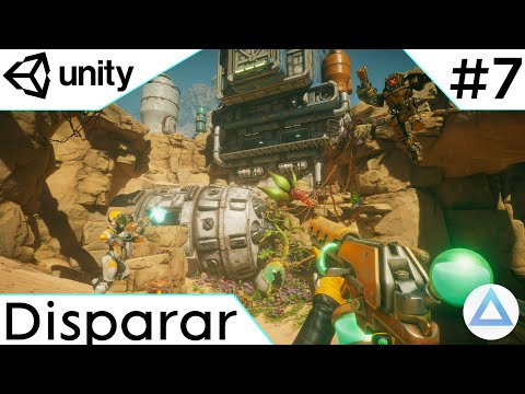 CREA un VIDEOJUEGO de DISPAROS en Unity Tutorial 2021🔫/Disparar/7-Capitulo