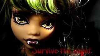 Survive the night - mandoPony FNAF song nightcore | monster high stop motion parody | MH SM MV