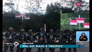 Kontingen TNI Naikan 3 Bendera Merah Putih di Tiga Cabang Lomba Tembak AARM - iNews Siang 22/11