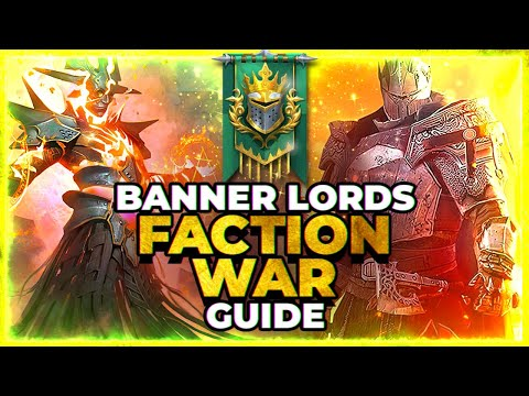 RAID Shadow Legends | BANNER LORDS | Full Faction Wars Guide!