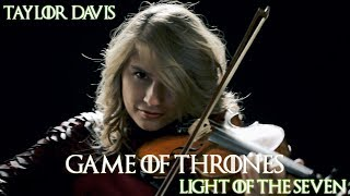 Game of Thrones: Light of the Seven (Violin Cover) Taylor Davis